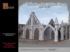 #4924 Gothic City Buildings Small Set #1